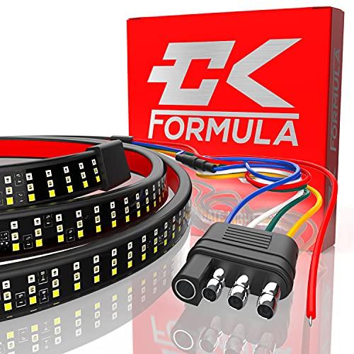 "CK Formula 60"" Triple Row LED Tailgate Light Bar - 5 Functions: Reverse,..."