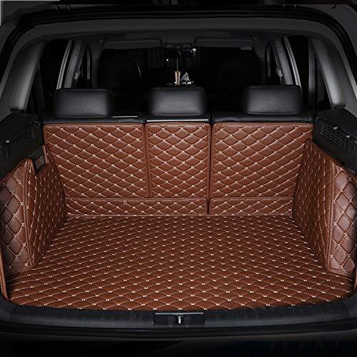 HCDSUSN Leder-Kofferraummatten, für Porsche alle Modelle 911 Panamera Cayman Cayenne Zubehör Car Styling Custom Cargo Liner