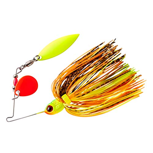 BOOYAH Pond Magic Small-Water Spinner Fire Bug, One Size