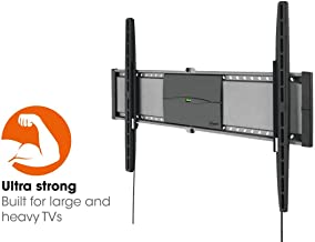 Vogel's EFW 8305 ultra strong TV wall mount bracket for very large (102-203 cm, 40-80 Inch) or heavy duty (max. 70 kg) TVs, Flat, VESA max. 800x450 mm, black