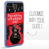 Guard Dog Custom Clear Cases for iPhone 7 Plus / 8 Plus – Personalized Quote...