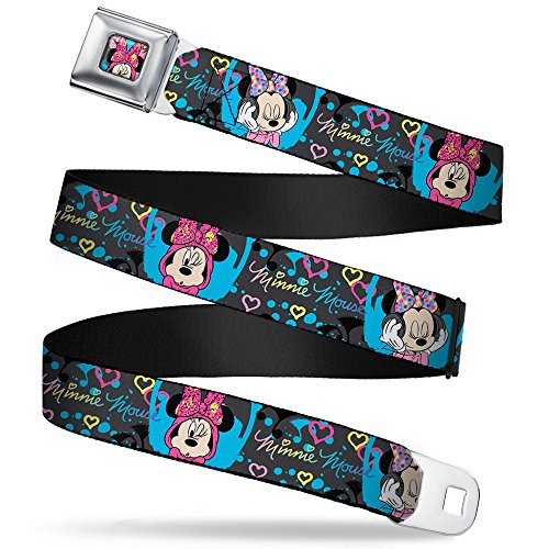 Buckle-Down Seatbelt Belt Minnie Mouse XL