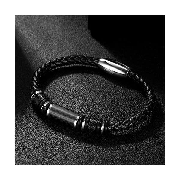 Two-Tone Square Link Diamond Bracelet 2