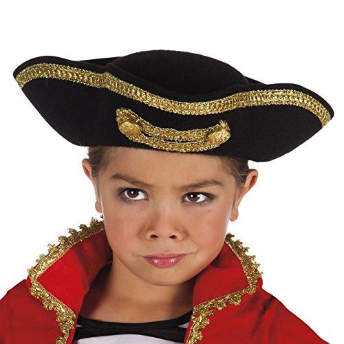 Boland 81906 Chapeau de pirate Joey pour enfant Taille unique