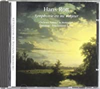 Rott: Sinfonie E Major by Montpellier Nat Orch (2003-01-07)