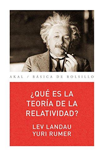 ¿Qué Es La Teoría De La relatividad: 13 (Básica de Bolsillo Serie Ciencia)