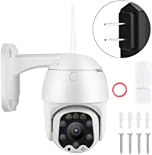 BTIHCEUOT Dome Camera, 2 Megapixel 5X Zoom HD CCTV Night Vision 4G Mini Waterproof Spherical for Security System