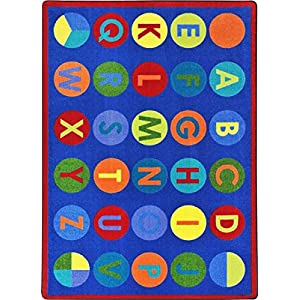Alpha-DOTS Kids Rugs Area Rug 5'4″ X 7'8″