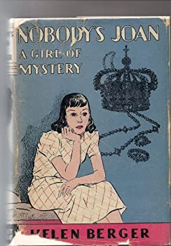 Hardcover Nobody's Joan: A Girl of Mystery Book