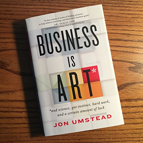 Business Is Art audiobook cover art