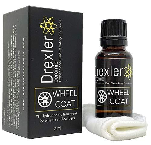 Drexler Ceramic Wheel Coat 20ml Protection Céramique Jantes Pro 9H Car Care