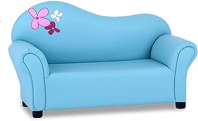Amazon.com: Costzon - Juego de sofá infantil de 2 plazas con ...