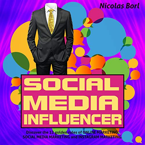 Social Media Influencer audiobook cover art