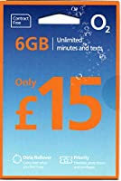 「Mewfi 」O2 イギリス他ヨーロッパ各国対応 プリペイドSIM (30日間 6GB 1000分無料通話)