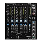 Reloop RMX-90 DVS - mezclador de club de DJ de 4+1 canales con interfaz de audio DVS para DJ Serato,...