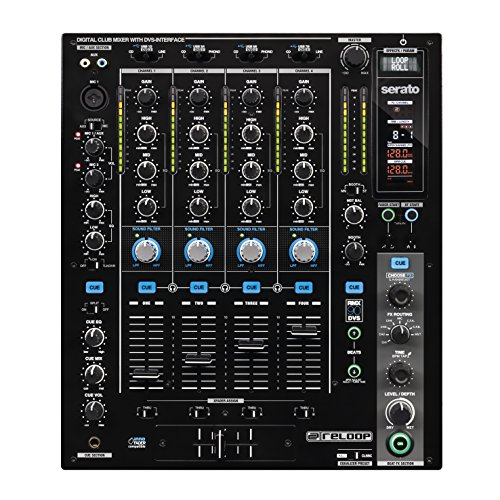 Reloop RMX-60 Digitaal USB-hub + audio-interface. zwart