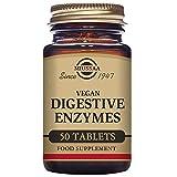 Solgar Vegan Enzimas Digestivas - Comprimidos masticables - Envase de 50