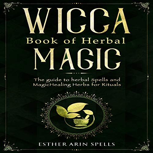 Wicca Book of Herbal Magic cover art