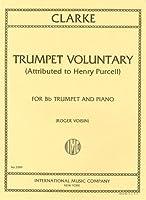 クラーク , J.: トランペット・ヴォランタリー/インターナショナル・ミュージック社ピアノ伴奏付ソロ