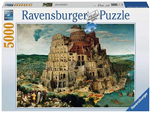 Ravensburger - Bruegel, La Torre de Babel, Puzzle 5000 Piezas (17423 2)
