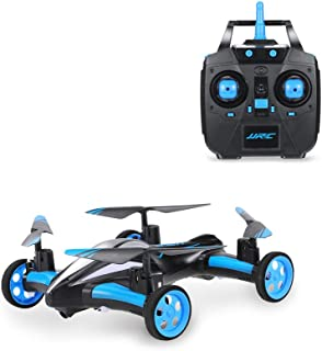 JJR/C H23 2.4G 4CH 6-Axis Gyro Air-Ground Flying Car RC Drone RTF Quadcopter with 3D Flip One-key Return and Headless Mode