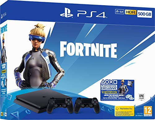 Fortnite Neo Versa 500GB PS4 Bundle with Second DualShock 4 Controller (PS4)