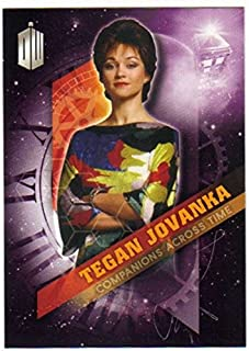2016 Topps Doctor Who Timeless Companions Across Time #7 Tegan Jovanka