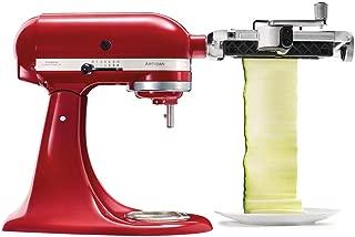 KitchenAid ksmsca 电红色切片机 Freiraumschneider (红色)