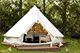 Outdoor Waterproof Luxury Glamping Bell Tents for Boutique Camping and...