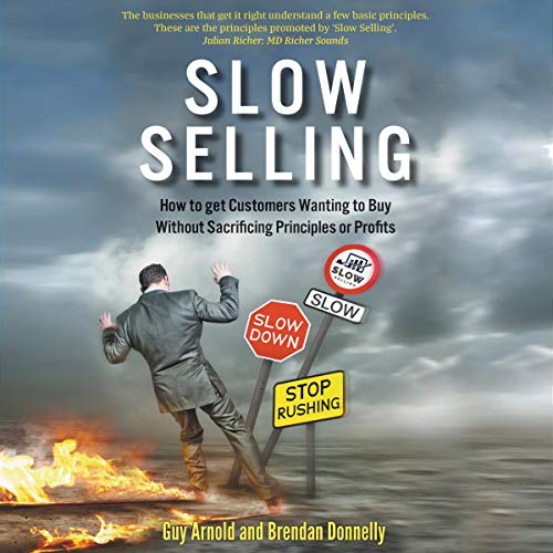 Slow Selling audiobook cover art