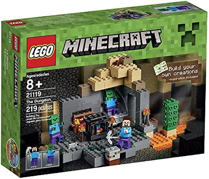LEGO Minecraft 21119 The Dungeon