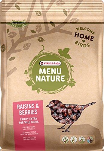 VERSELE LAGA Mélange de Baies et Raisins secs pour Oiseaux Sauvages Menu Nature Sachet 600 g