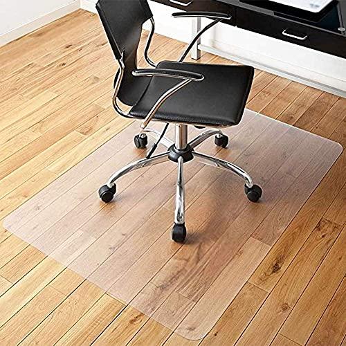 n.g. Family Life Equipment Hartboden Stuhlmatten Tischabdeckung Schutz PVC Haushalt Transparente Schutzauflage Fliesenmatte rutschfest Kratzfest 2 Stärken (Color : 2.1mm Size : 90x150cm)