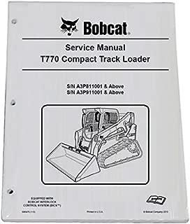 bobcat t770 parts manual