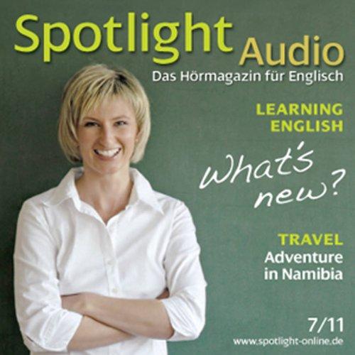 Spotlight Audio - Learning English. 7/2011 Titelbild