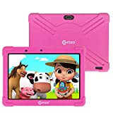 Contixo K101A 10 inch IPS Display Kids Tablet with 2GB RAM 16GB ROM Android 10 Parental Control for Children Infant Toddlers at Home School, Educational Tablet for Kids, WiFi, Child-Proof Case (Pink)