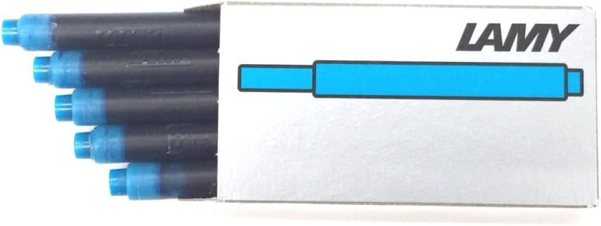 Lamy Turquoise T10 Fountain Pen Ink 5 55% OFF Refills 1 of Pack New life