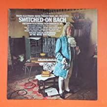 SWITCHED ON BACH Walter Carlos Columbia Masterworks MS 7194 LP Vinyl VG+