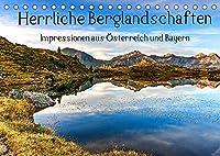 Herrliche Berglandschaften - Impressionen aus Oesterreich und BayernAT-Version (Tischkalender 2022 DIN A5 quer): Die schoensten Plaetze der Alpen (Monatskalender, 14 Seiten )
