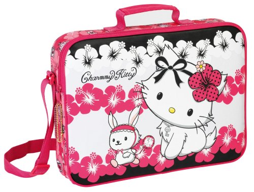 Charmmy Kitty Hello Kitty Schultertasche Notebooktasche rot EDEL