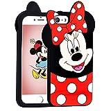 Coque en Silicone Souple pour iPhone 5/5S/5C/SE Motif Dessin animé Minnie