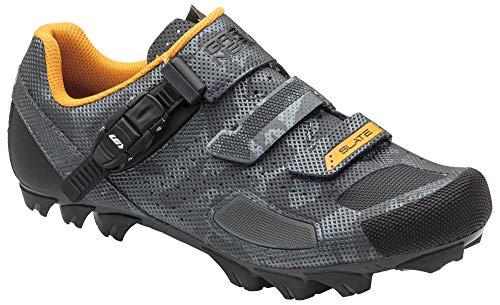 Louis Garneau, Men's Slate 2 MTB Bike Shoes, Camo Charcoal, US (12), EU (47)