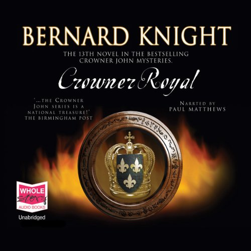 Crowner Royal audiobook cover art