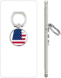 DIYthinker Utah America Usa Kaart Sterren Strepen Vlag Mobiele Telefoon Ring Stand Houder Beugel Universele Smartphones On...