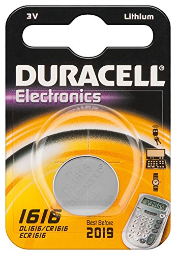 Duracell CR1616 al litio moneta batteria, 55mAh