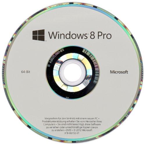 Windows 8 Pro OEM 64 Bit Vollversion