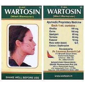 Adarsh_Medical_Store Wartosin Wart Remover (3 ml) - Pack of 2
