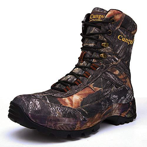 XIEZI Camuflaje Zapatos Al Aire Libre Botas De Combate De Alta Ayuda Táctico Especial Senderismo Botas Bionic Camuflaje Caza Botas De Los Hombres De La Selva 3-46