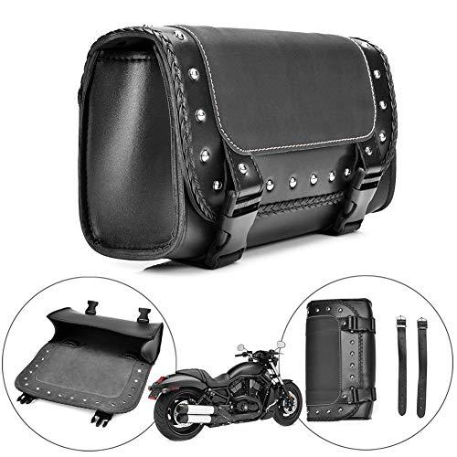 DEBBD Motorrad satteltasche pu Leder Tasche gepäck satteltaschen für Harley Sportster packtasche Seiten satteltasche