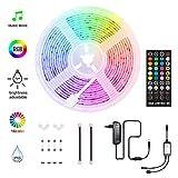 HoMii LED Streifen 5m - RGB LED Strips Sync mit...